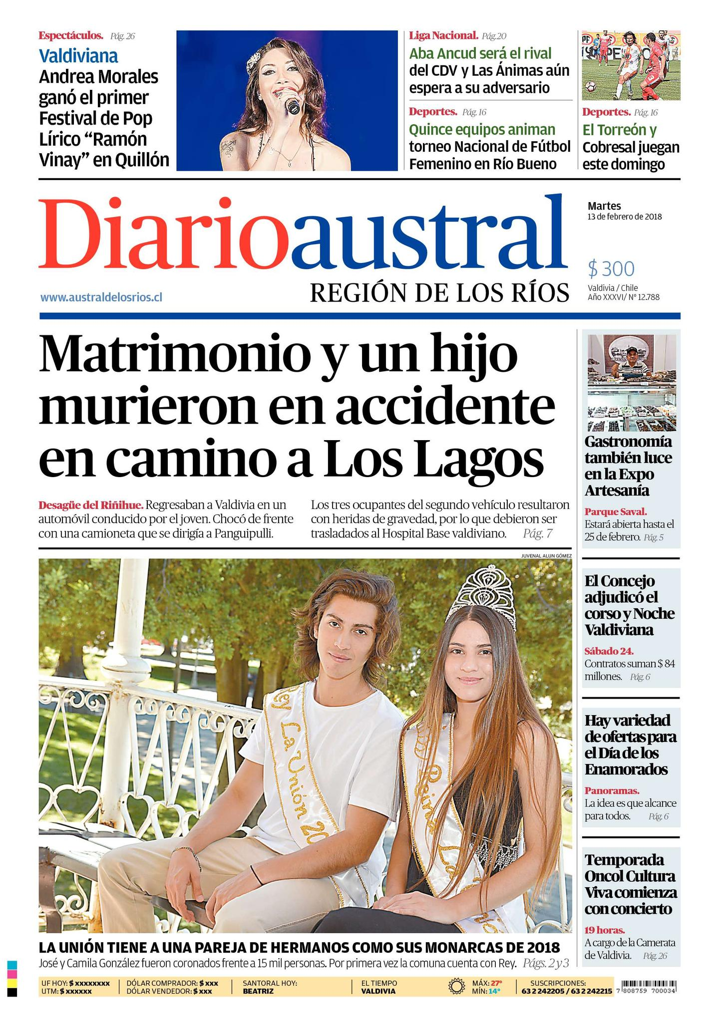 Diario austral valdivia online dating