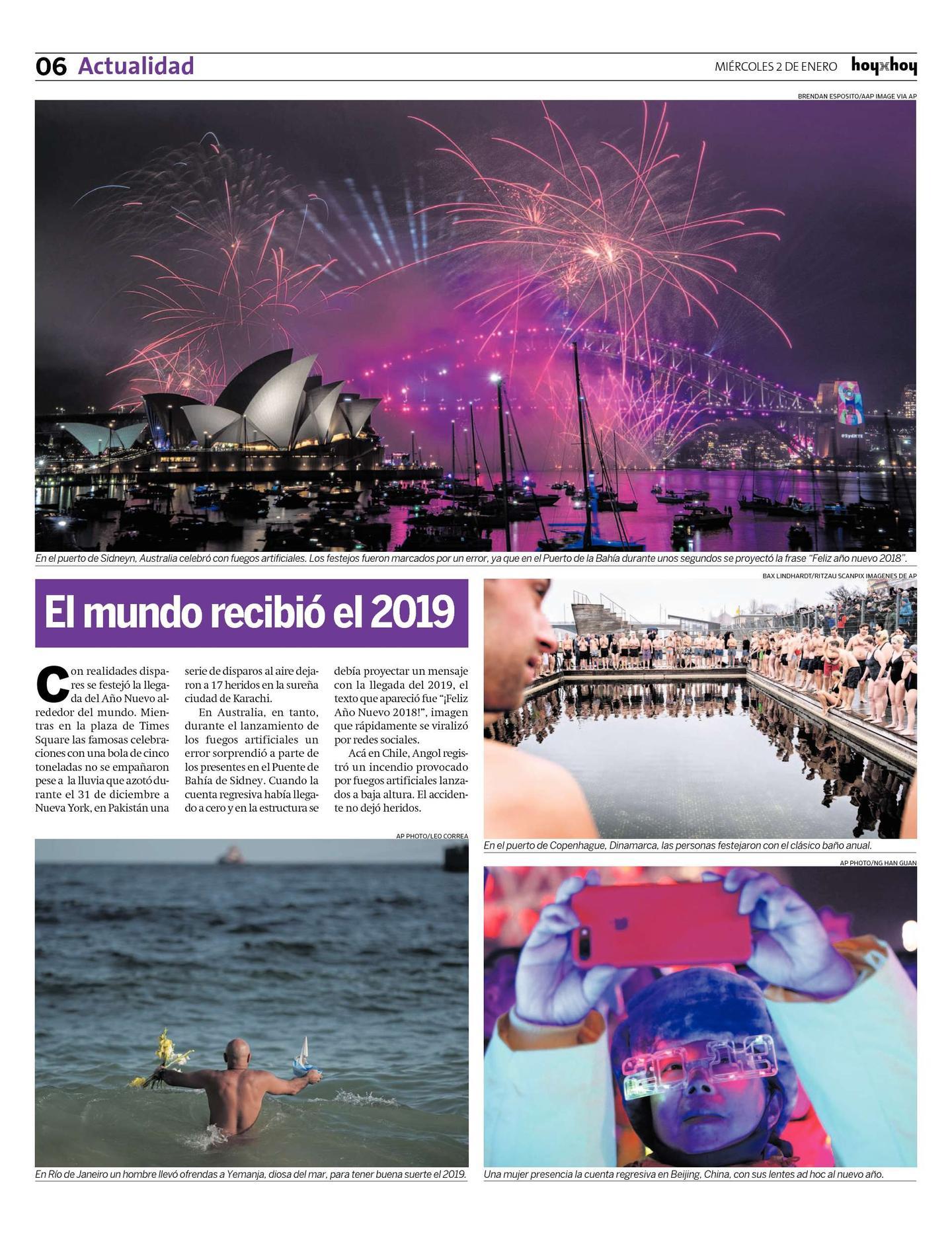Pagina 6 Hoyxhoy Cl Hoyxhoy El Diario Que No Tiene Precio