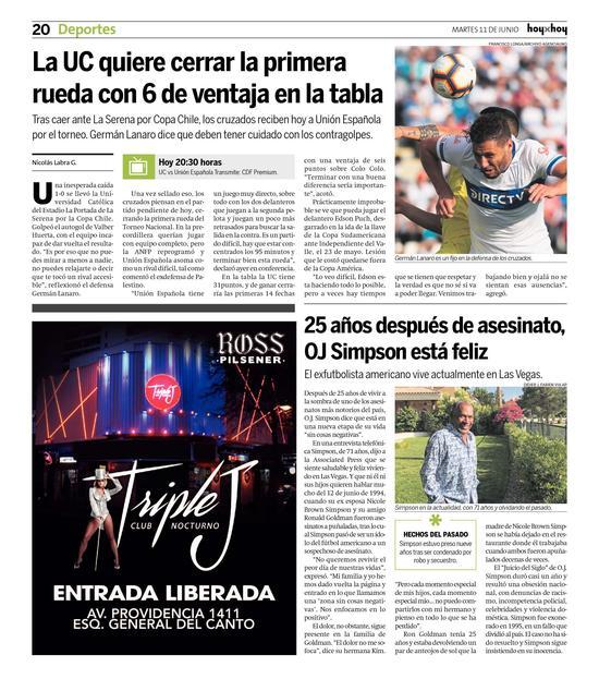 Página 20   hoyxhoy cl - HoyxHoy, el diario que no tiene
