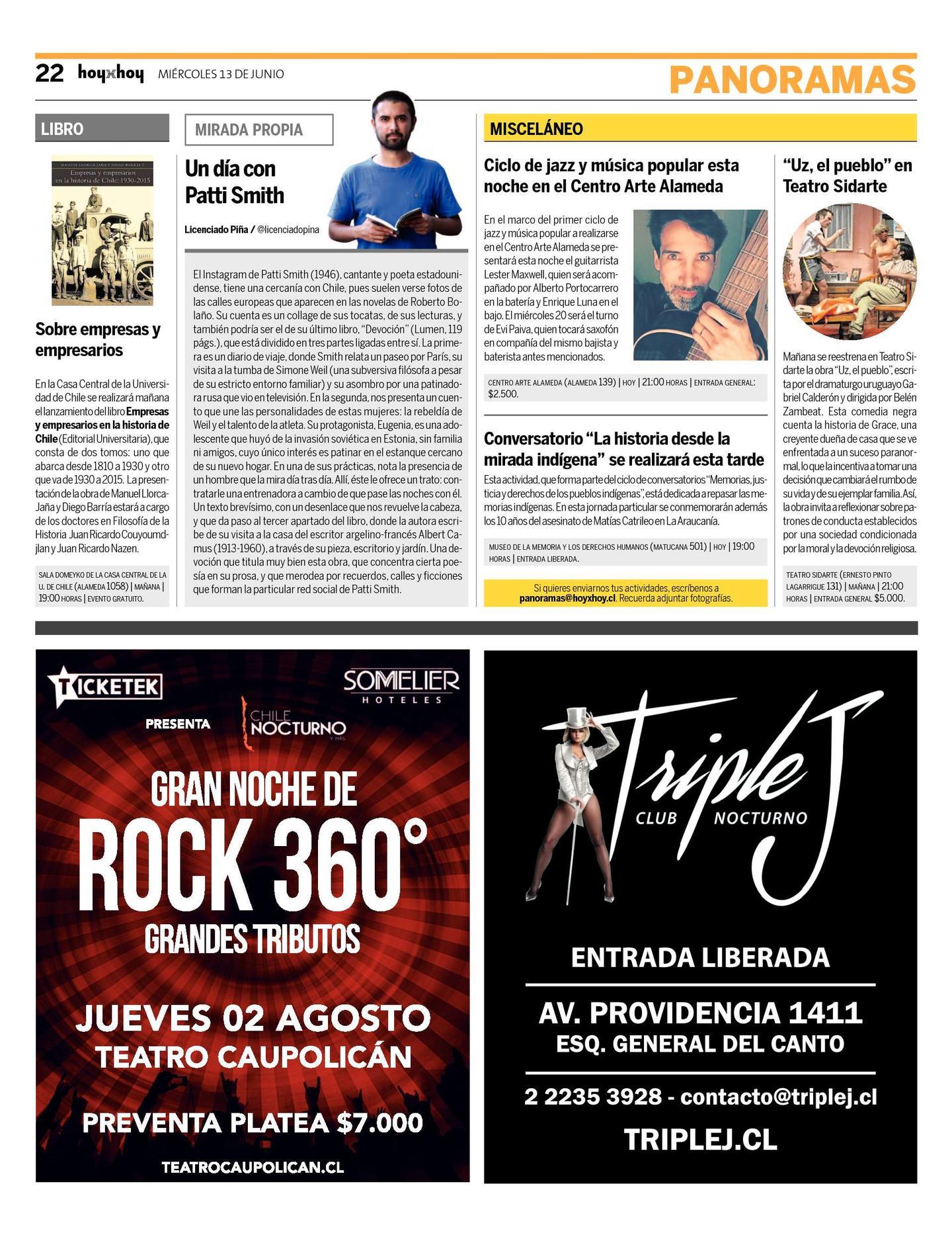 Página 22 | hoyxhoy.cl - HoyxHoy, el diario que no tiene precio ...