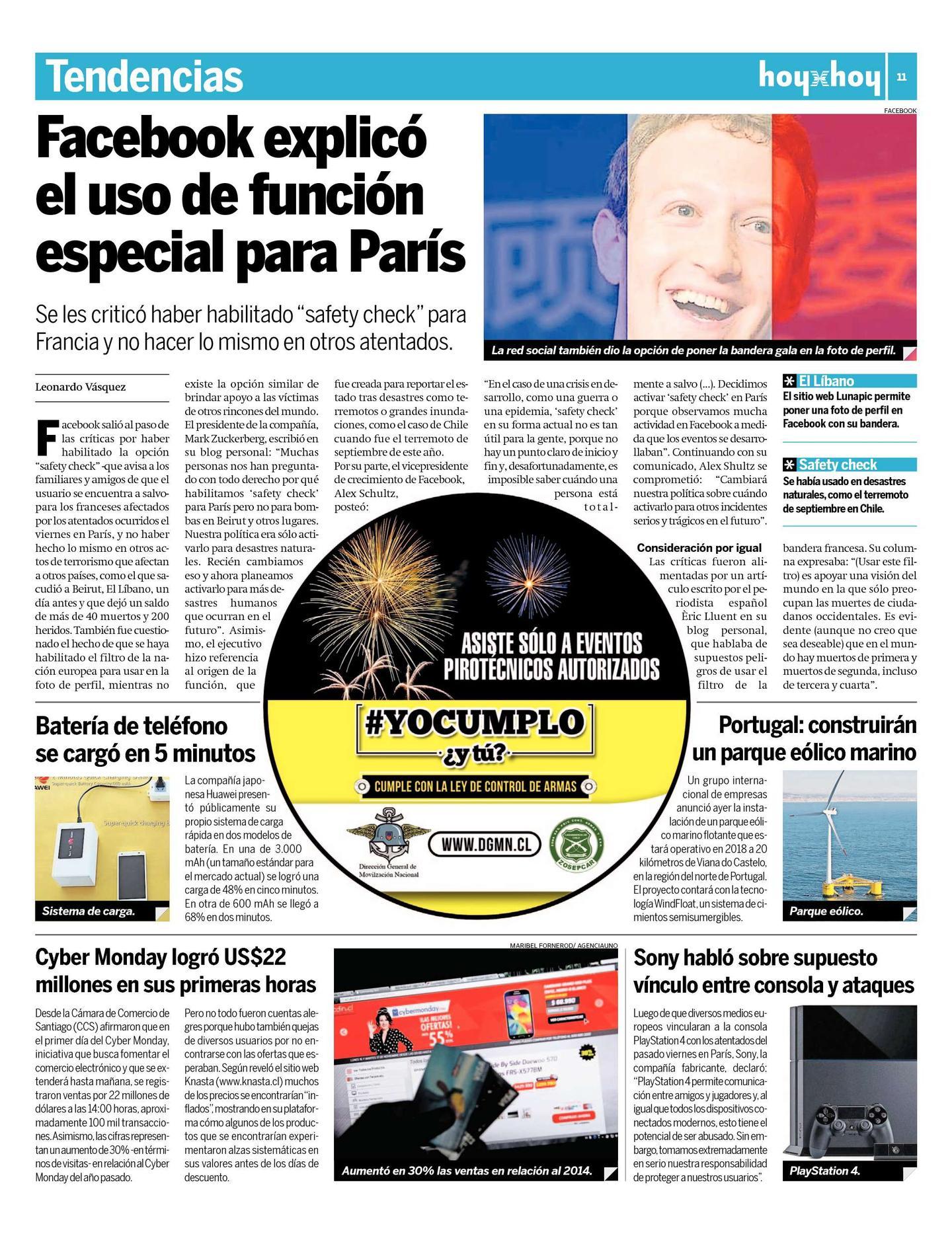 Página 11 | hoyxhoy.cl - HoyxHoy, el diario que no tiene precio ...