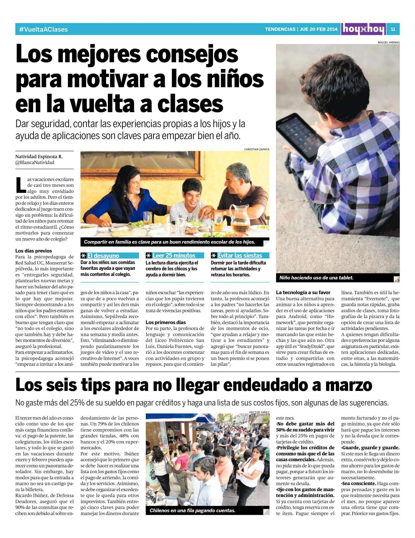 e9c4bc25b Página 11 | hoyxhoy.cl - HoyxHoy, el diario que no tiene precio - Santiago,  Chile - 20.02.2014