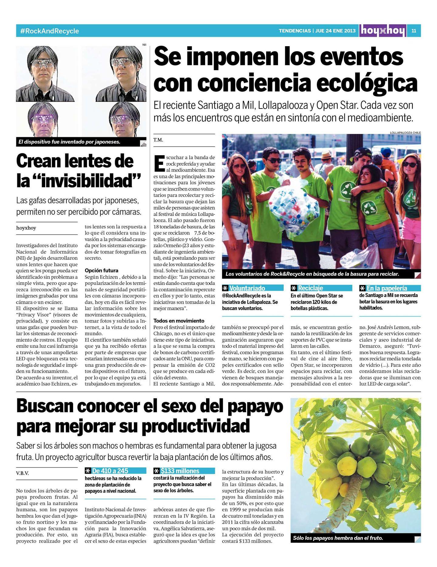 ca8a83b6ac Página 11 | hoyxhoy.cl - HoyxHoy, el diario que no tiene precio - Santiago,  Chile - 24.01.2013