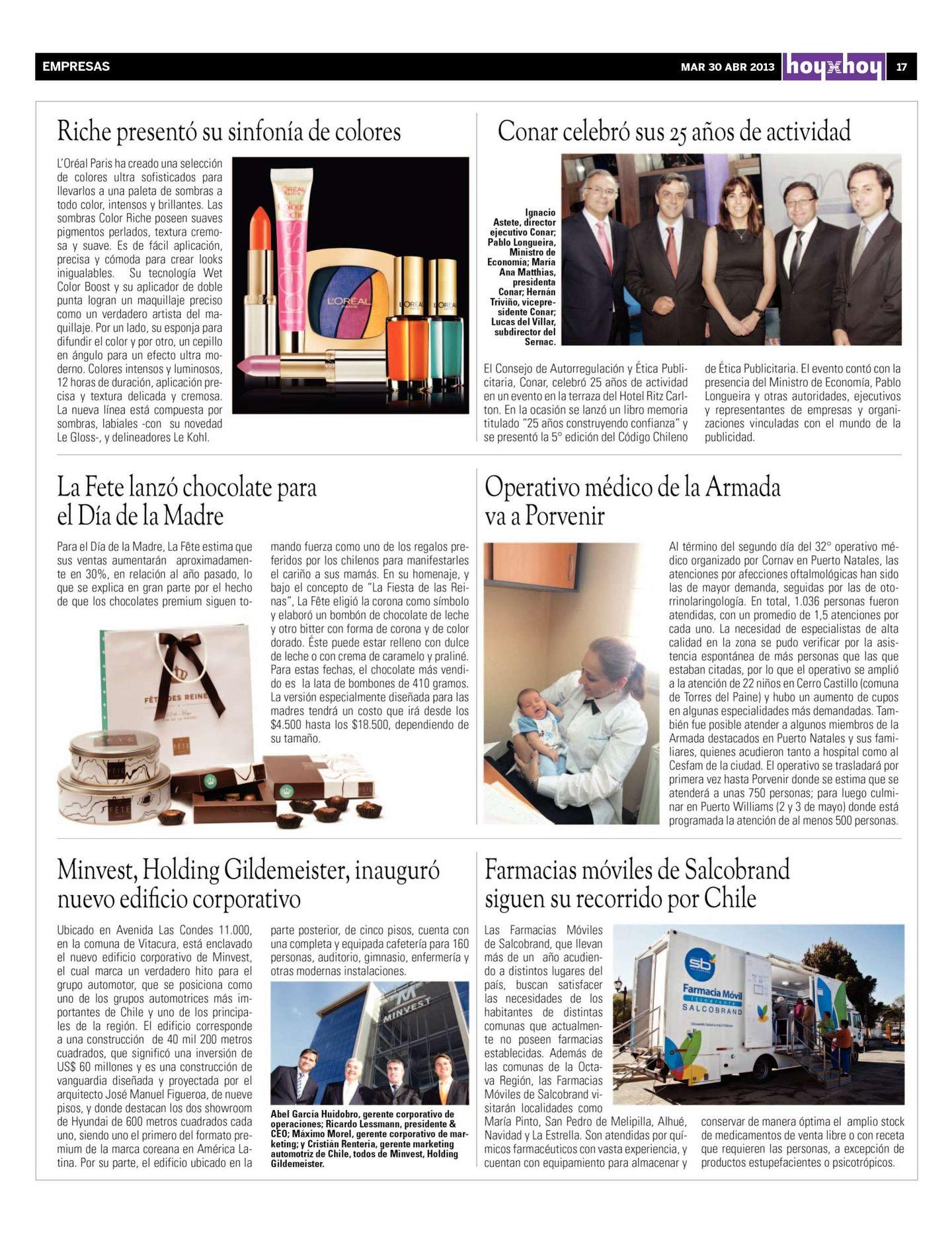 537e0a26e Página 17   hoyxhoy.cl - HoyxHoy, el diario que no tiene precio - Santiago,  Chile - 30.04.2013