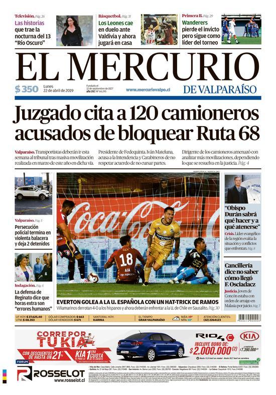 8336e36b5638 El Mercurio de Valparaíso - 22.04.2019