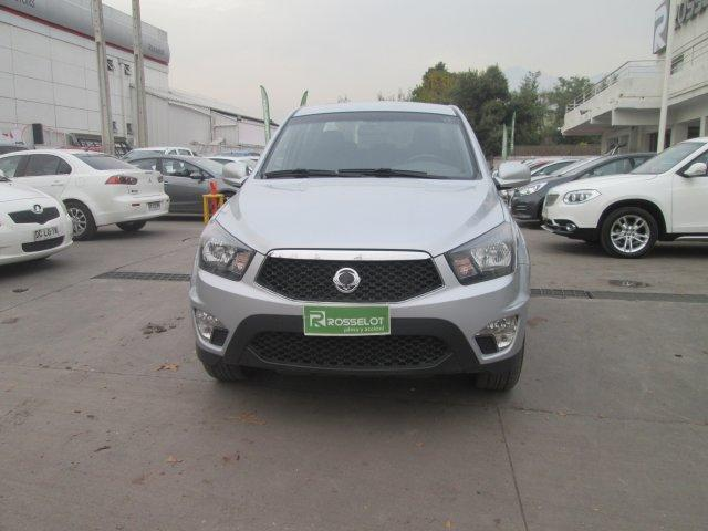 Camionetas Rosselot Ssangyong New actyon sport 2.0 4x2 at-euro v nas623  2015