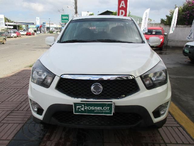 Camionetas Rosselot Ssangyong New actyon sport 2.0 at 4x4 ll-nas723-euro iv 2013