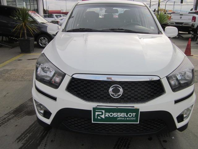 Camionetas Rosselot Ssangyong New actyon sport 2.0 4x2 at-nas623-euro iv 2013
