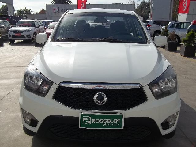 Camionetas Rosselot Ssangyong New actyon sport 4x2 2.0 mt a/a abs ll -nas612  2014
