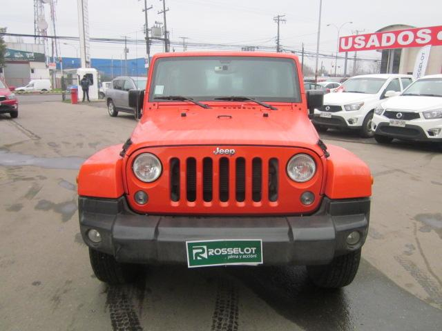 Autos Rosselot Chrysler Wrangler unlimited sahara 4x4 3.6 2015