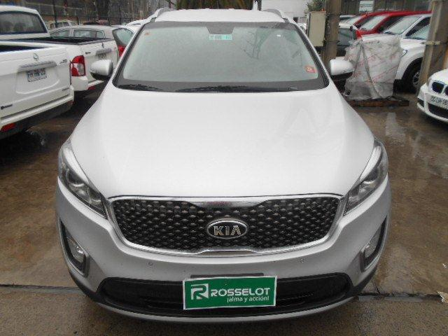 Autos Rosselot Kia New sorento ex 2.4l gsl 6at 4x2 se-1589 2015