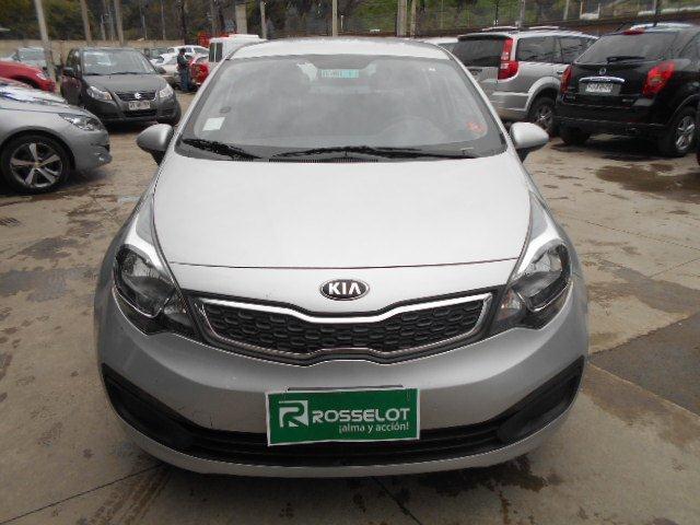 Autos Rosselot Kia Rio 4 ex 1.4l 6mt euro v-1521 2015