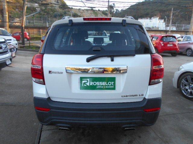 Camionetas Rosselot Chevrolet Captiva ls 2.4 mt benc 2014