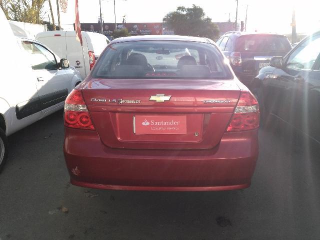 Autos Rosselot Chevrolet Aveo ls 1.4 dh mec 2009
