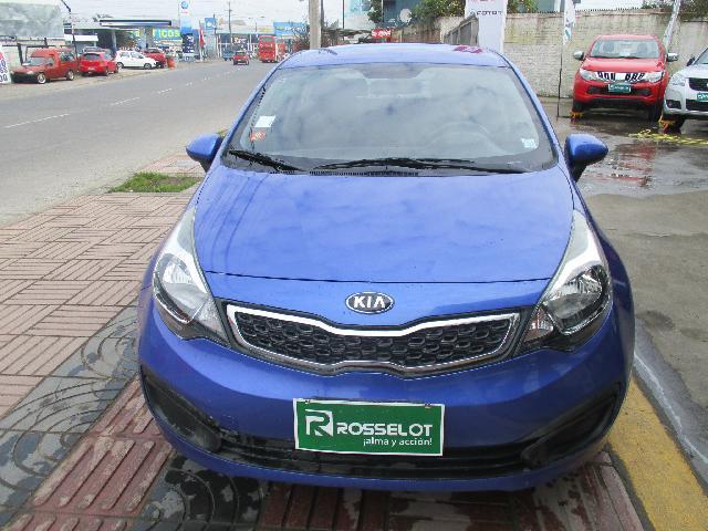 Autos Rosselot Kia Rio 4 ub ex 1.4l 6 mt-1323 2013