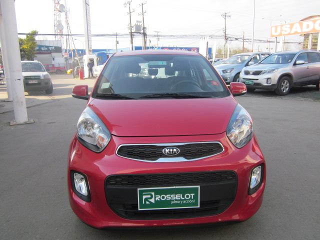 Autos Rosselot Kia Morning ex 1.2l 5mt dab ac-1742  2017