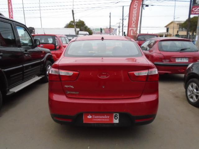 Autos Rosselot Kia Rio 4 ub ex 1.4l 6 mt-1323 2012