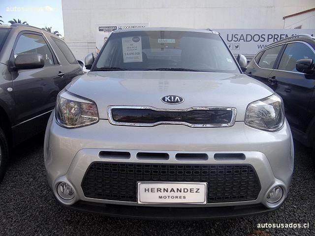 Autos Hernández Motores Kia Soul 2015