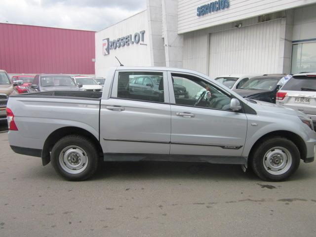Camionetas Rosselot Ssangyong New actyon sport 4x2 2.0 mt aa-euro v-nas610aa  2015