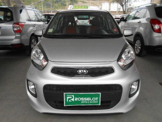 Autos Rosselot Kia New morning ex 1.2l 5mt sport - 1618  2017
