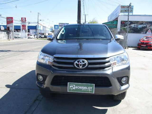 Camionetas Rosselot Toyota New hilux d/c 4x2 diesel 2ab abs aa 2016