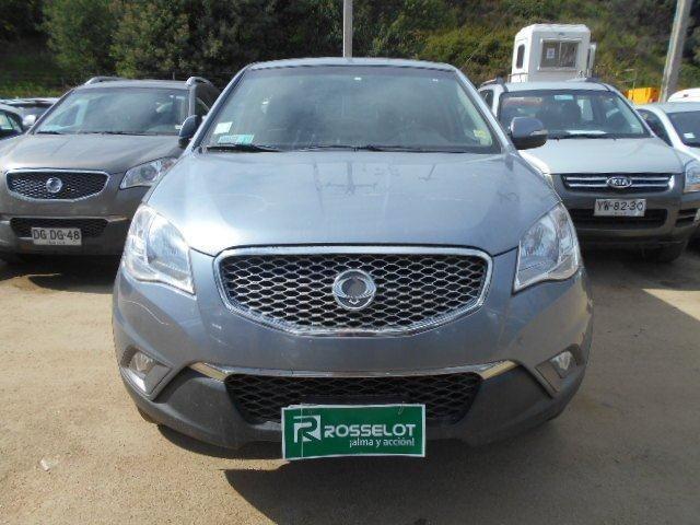 Autos Rosselot Ssangyong Korando gas 4x2 - kc1110 - euro iv  2012