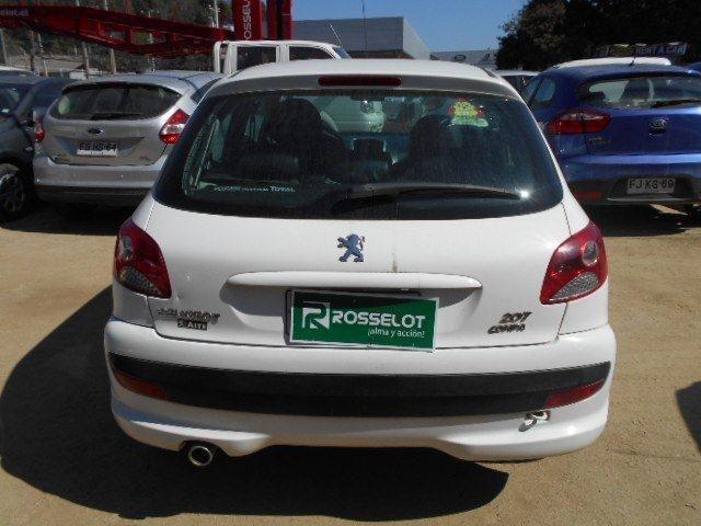 Autos Rosselot Peugeot 207 compact xline 1.4 2011