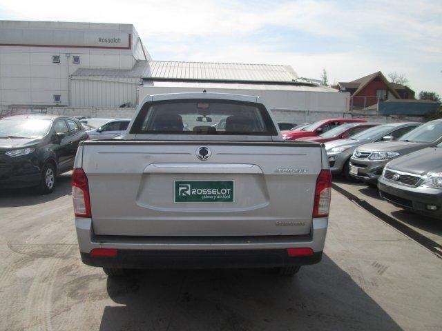 ssangyong new actyon sport 4x2 2.0 mt aa - nas611