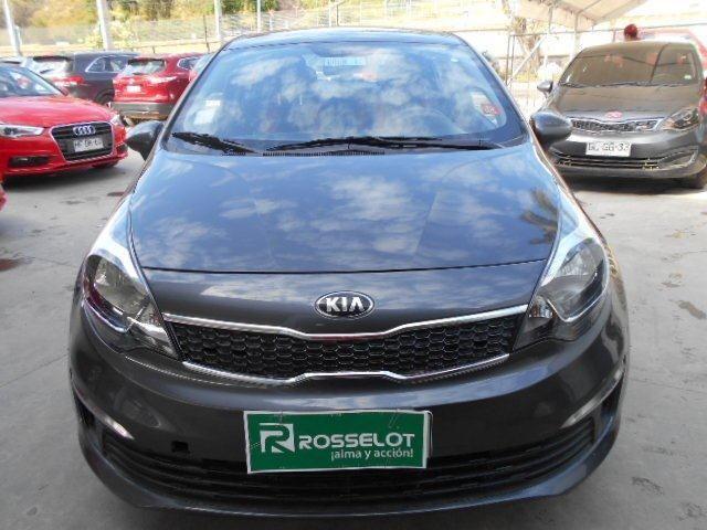 Autos Rosselot Kia Rio 4 ex 1.2l 5mt  euro v - 1520  2015