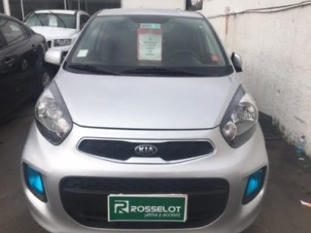 Autos Rosselot Kia New morning ex 1.2l 5mt dab - 1616  2016