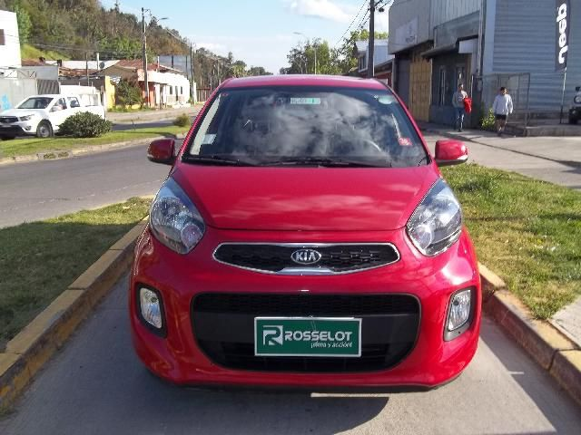 Autos Rosselot Kia New morning ex 1.2l 4at dab ac abs - 1619  2016