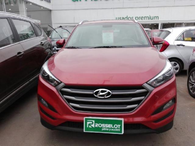 Camionetas Rosselot Hyundai Tucson gl crdi 2.0 mec 4x2 full 2016
