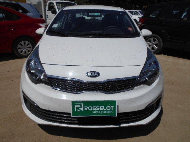 Autos Rosselot Kia Rio 4 ex 1.4l 6mt dab - 1633  2016