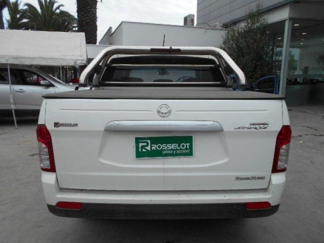 ssangyong new actyon sport 4x2 2.0 mt aa - nas610aa - euro iv