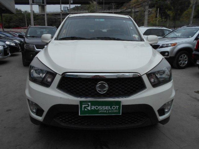 Camionetas Rosselot Ssangyong New actyon sport 4x2 2.0 mt aa - nas610aa - euro iv 2013