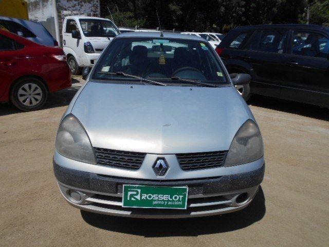 Autos Rosselot Renault Clio expression 1.6 mec benc 2004
