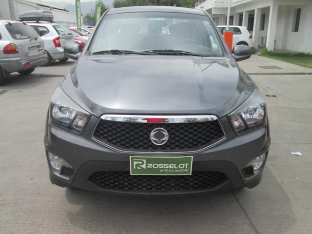 ssangyong new actyon sport 4x4 2.0 mt ll - nas712 - euro iv