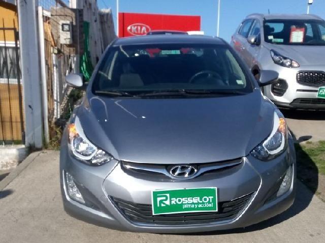 Autos Rosselot Hyundai Elantra 1.6 gls mec 2014