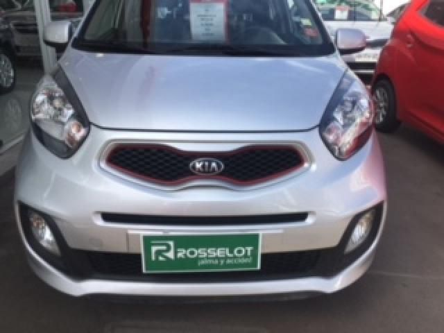 Autos Rosselot Kia Morning ex 1.2 5mt dh ab euro v - 1557  2015