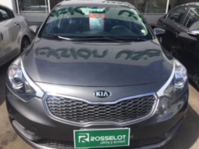 Autos Rosselot Kia New cerato ex 1.6 mt ab - 1390  2014