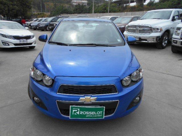 Autos Rosselot Chevrolet Sonic lt hb 1.6 2014