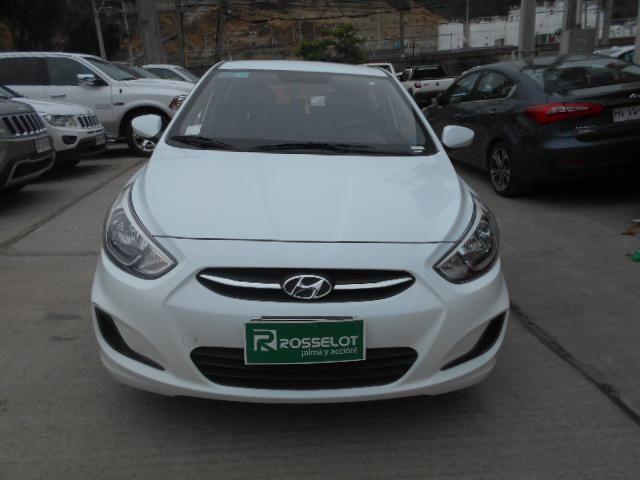 Autos Rosselot Hyundai Accent rb gl 1.4  av ac  2016