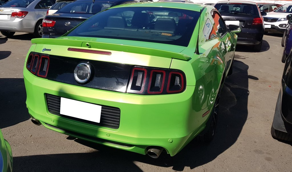 ford mustang coupe gt del