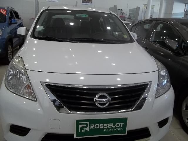 Autos Rosselot Nissan Versa sence 1.6 mt c/llantas - nlb131ll** 2012