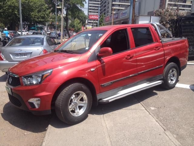 Camionetas Rosselot Ssangyong New actyon sport 4x2 2.0 mt aa - euro v - nas610aa  2014