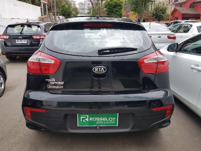 Autos Rosselot Kia Rio 5 ex 1.4l 6mt sport - 1681  2016