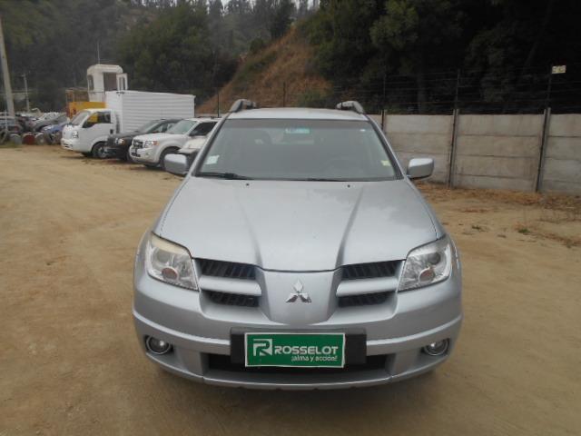 Camionetas Rosselot Mitsubishi New outlander gl 2wd 2.4 aut 2010