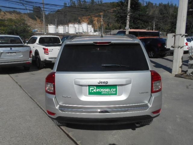 Camionetas Rosselot Jeep Compass limited at 2.4 4x4 2013