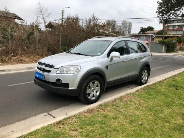 Chevrolet captiva lt diesel awd at