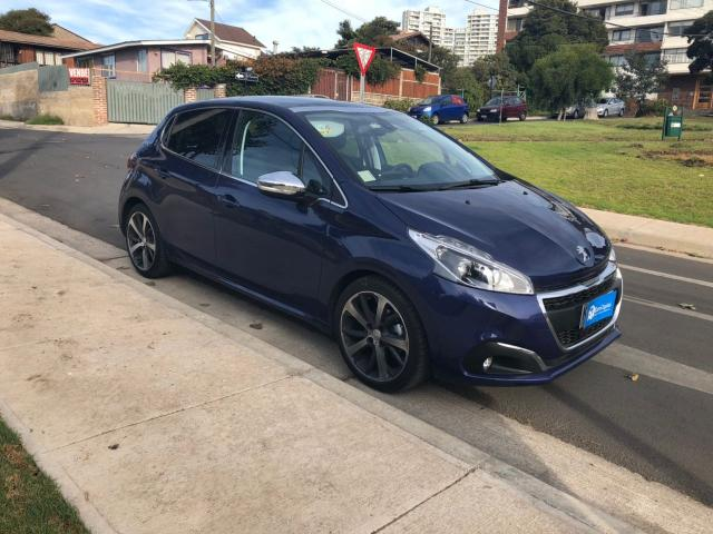 Autos Automotora RPM Peugeot 208 allure 1.6 bluehdi 2018